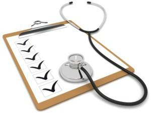 Перечень медицинских услуг